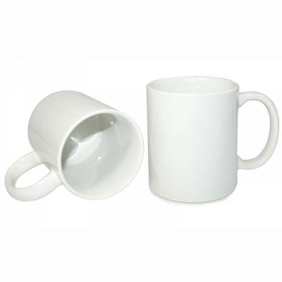 White Coated Ceramic Mug
