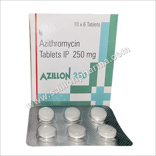 Azillon 250 Azithromycin Tablets 250mg