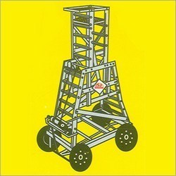 Aluminum Tower Wheeled Ladders in  Hauz Qazi