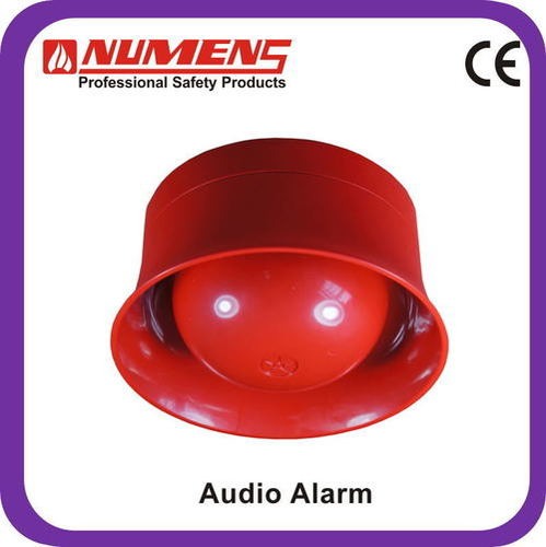 Conventional Red 24V 2/4-wire Audio Visual Fire Alarm Device