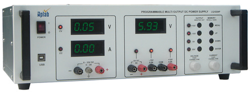 Programmable Multi Output Linear DC Power Supply - Aplab Limited