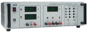 Programmable Multi Output Linear DC Power Supply