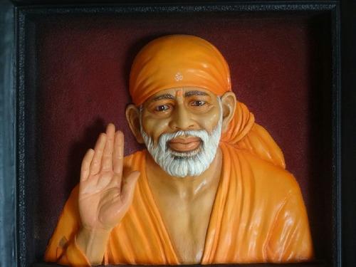 Sai Baba Mural
