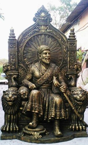 Shivaji Maharaj Frp Statue In Chinchwad Maharashtra