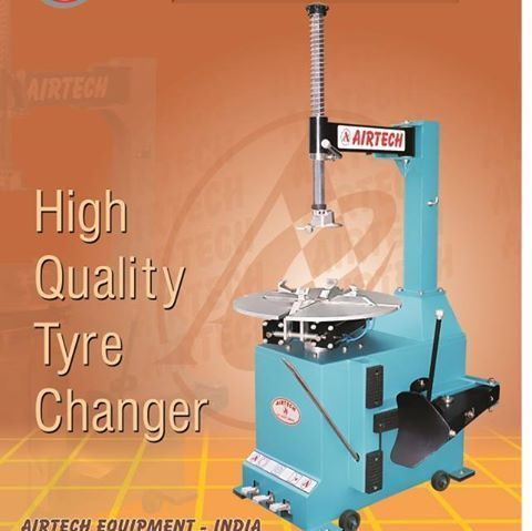 Automatic Motor Tyre Removal Machine
