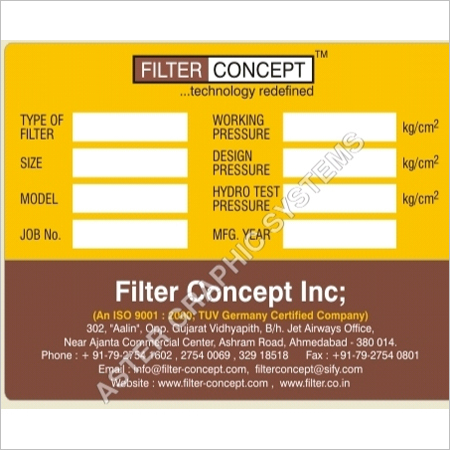 Industrial Name Plates Labels