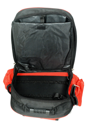 Back Pack With Detachable Flap