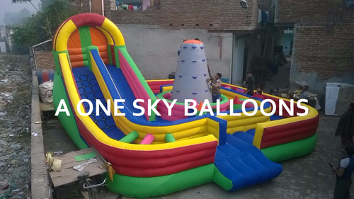 Inflatable Sliding Jumping Castle