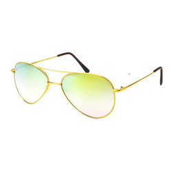 Aviator Gold Sunglasses Frame