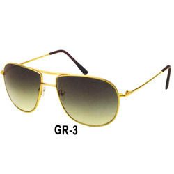 Polarized Gold Sunglasses Frame