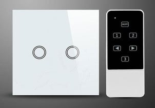 Remote (Radio) Control Switch and Light (For 3 light and 1 fan)