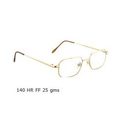 Rim Less Gold Optical Spectacle Frame