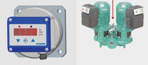 Fischer De38 01dyyb Differential Pressure Switch Transmitter