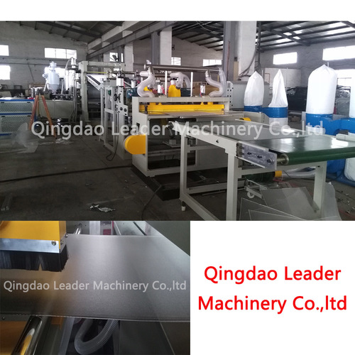 PS GPPS Diffusion LED Panel Board Sheet Making Machine in Qingdao