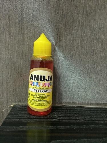 Yellow Liquid Food Colour