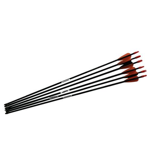 Barnett Junior Target Practice Carbon Fibre Arrows Set Of Six