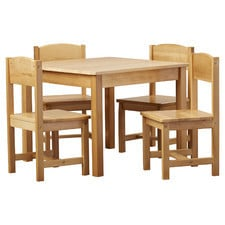 Big Rectangle Table With Four Chairs