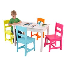 Big Rectangle With Four Chairs