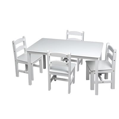 Big Rectangle With Six Chairs