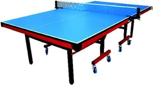 Hurricane Table Tennis Table With Wheels