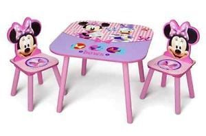 Spiral Table with Two Kids Chair