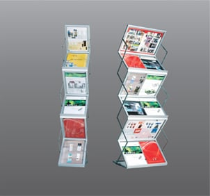Brochure stand and brochure display stands