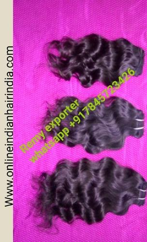 Indian Human Hair - Peruvian Curly