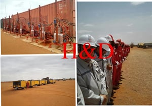 Project In Africa Of Seismic Drilling