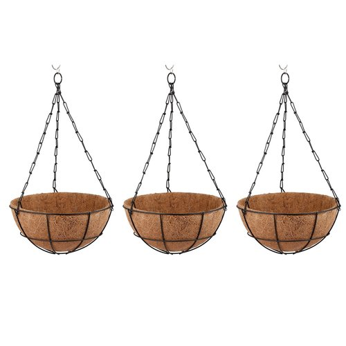 Coir Hanging Metal Basket in  Mavalli