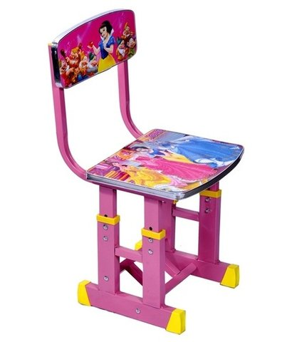 Pink Color Plastic Chair