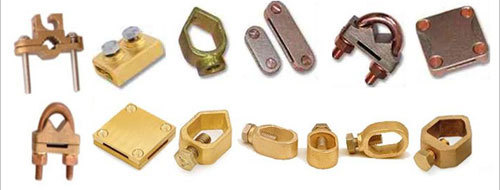 Brass Earthing Clamps