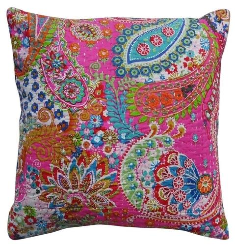 Paisley Print Decorative Cushion Cover