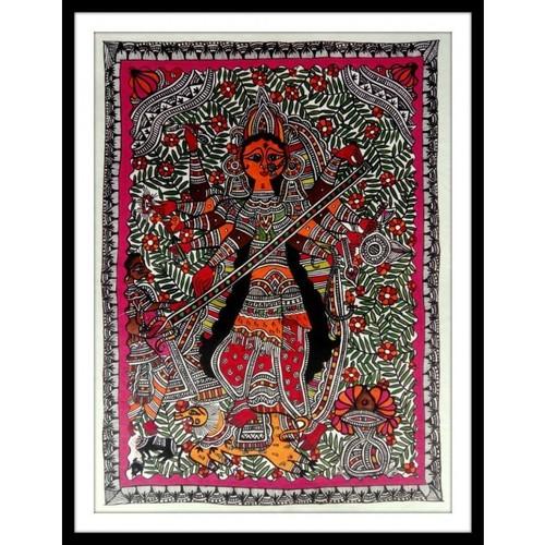 Maa Durga Madhubani Painting At Best Price In Delhi Delhi