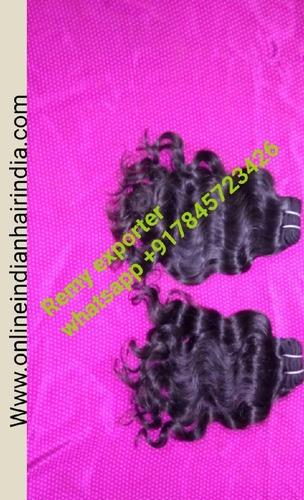 Natural Black Indian Human Hair - Brazil