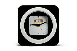 Wall watch Black white with batteries