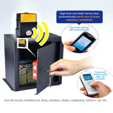 Mobile Based Anti Theft Home Security & Tracking Device