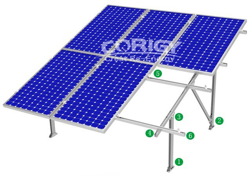 Gm3 Steel Ground Mounting System Solar Installation Kit