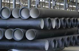 Ducked Iron Pipe