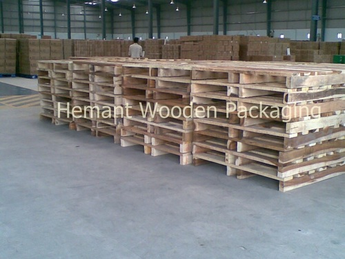 Wooden Pallet Hemant Wooden Packaging Gala No6 Bulding No1
