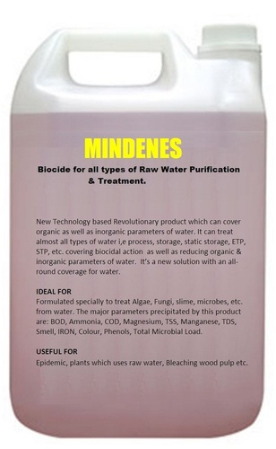 Mindenes Biocide For Raw Water Treatment