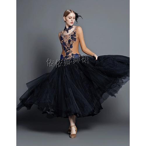 Custom Made Ballroom Dance Dress Ballroom Gown Dancewear In Shenzhen