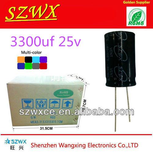 Aluminum Electrolytic Capacitor 3300UF/25V