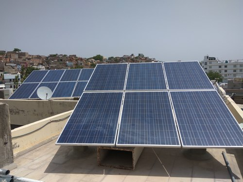 Solar Pv Module For Commercial Purposes Installation Service