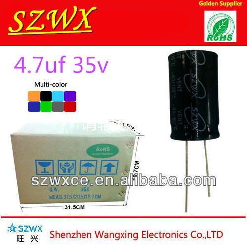 4.7uf 35v Aluminum Electrolytic Capacitor