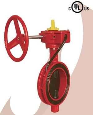 Ul Fire Protection Wafer Type Butterfly Valve