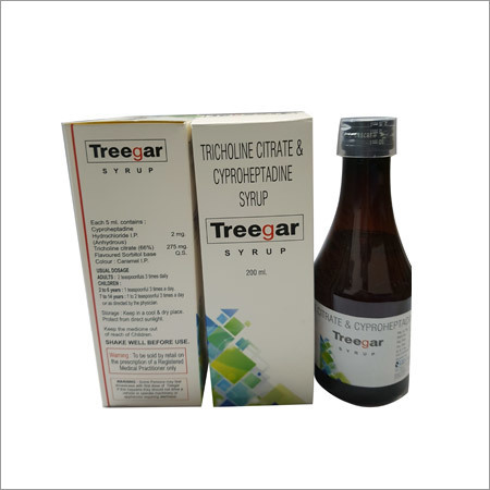 Treegar Syrup 200 ml in   Kilachand Shopping Centre