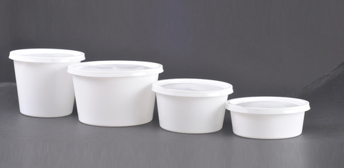 Plastic Milky Food Packaging Container