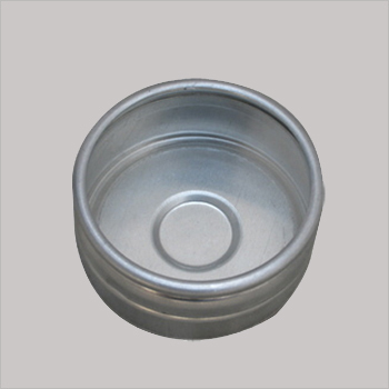 Aluminum Candle Cap With Glass Lid