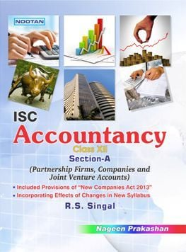 Isc Accountancy Textbook Part-A For Class Xii