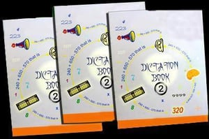 Student Abacus Dictation Book